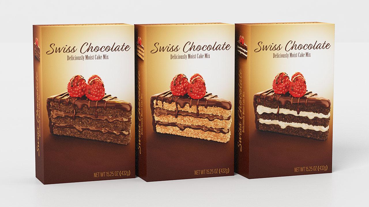 Chocolate Cake Pack